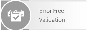 Error Free EDI included with our EDI Gateway service